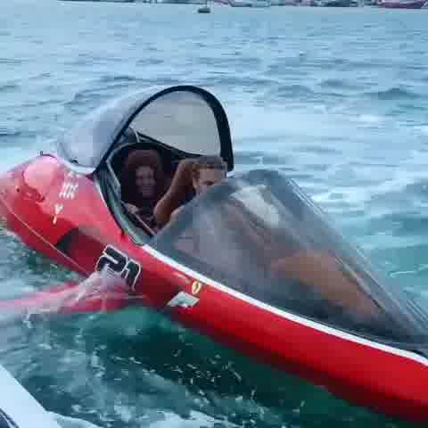 Feel the thrill. Ride on a dolphin craft.🐬Tag your partner to ride along..!!Tag us or use #tvvt to get featured.✨📽️:- @cass.officiel