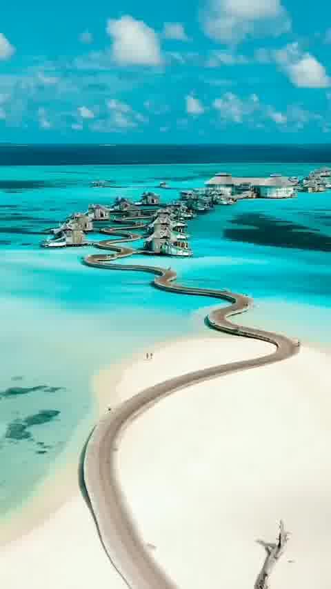 Maldives beautiful beach  ❤Double Tap❤ if you wish you were here.  .  .  Follow - @travel.vacationx   Follow - @travel.naturex    📸 :- @jeremyaustiin