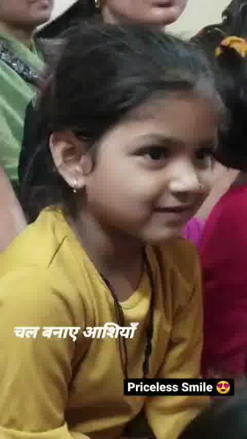 so cute smile beautiful...👸❤😘  #Cute #Viral