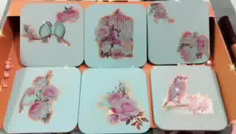 #trending #DIY #decoupage #handmade #artwork #handcrafted  #supportsmallbusiness #vocalforlocal #coasters