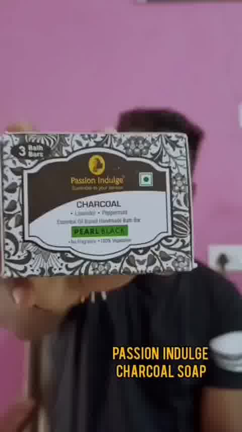 Review of charcoal soap #review #soap #reviewblogger #groomwithjosh