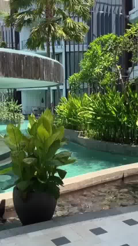 Pool vibes in Bali at the luxury @lemeridienbali